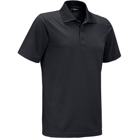 Maier Sports Ulrich Polo Herrer, black